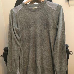 J Crew Mixed Media Sweater sz S